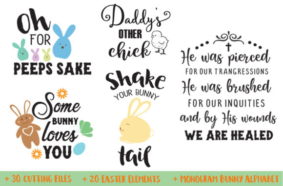 Download Free Easter Bundle Graphic By Nerd Mama Cut Files Creative Fabrica SVG Cut Files