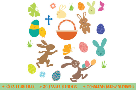 Easter Bundle Graphic By Nerd Mama Cut Files Image 4