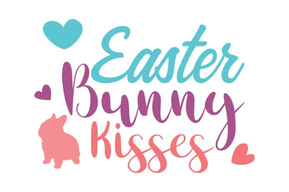 Download Free Easter Bunny Kisses Set Svg Vector Image Graphic By Arief Sapta for Cricut Explore, Silhouette and other cutting machines.