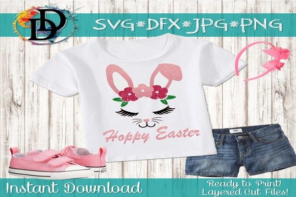 Download Free Easter Bunny Svg Graphic By Dynamicdimensions Creative Fabrica for Cricut Explore, Silhouette and other cutting machines.