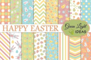 Easter Digital Papers Graphic By GreenLightIdeas