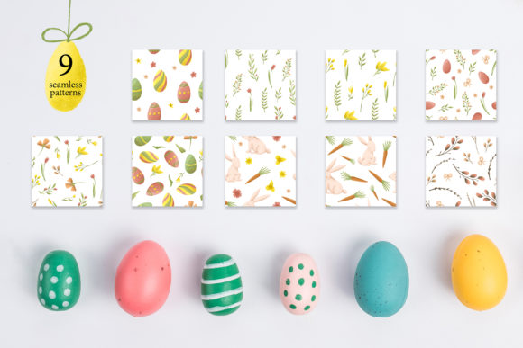 Easter Egg-Graphic Clipart and Lettering Graphic By tregubova.jul Image 11