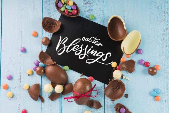 Easter Egg-Graphic Clipart and Lettering Graphic By tregubova.jul Image 5