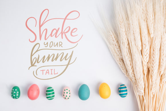 Easter Egg-Graphic Clipart and Lettering Graphic Illustrations By tregubova.jul - Image 8