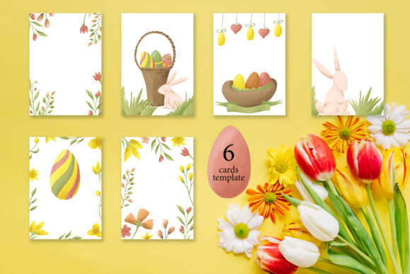 Easter Egg-Graphic Clipart and Lettering Graphic Illustrations By tregubova.jul - Image 10
