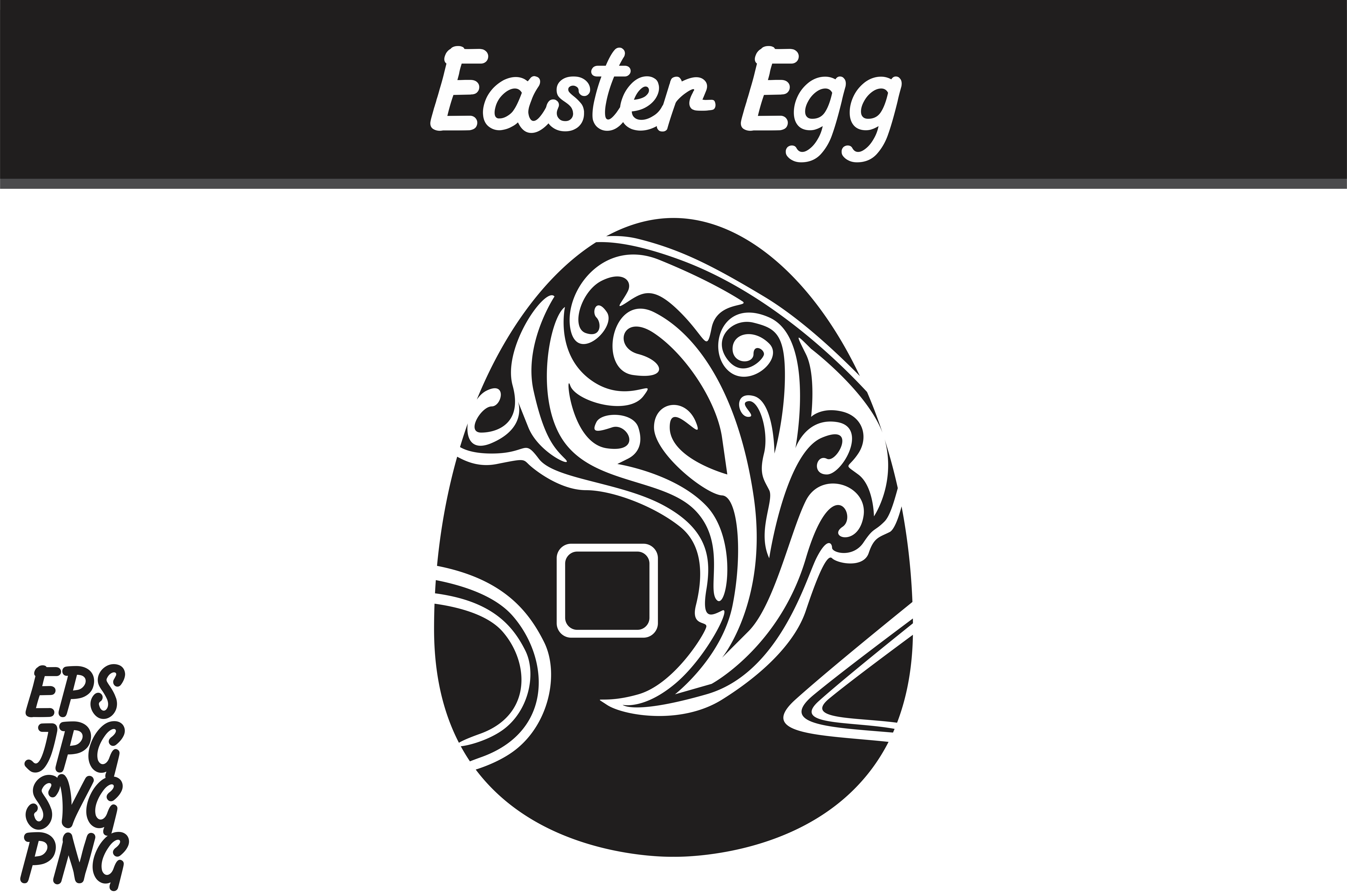 Download Free Easter Egg Svg Vector Image Graphic By Arief Sapta Adjie for Cricut Explore, Silhouette and other cutting machines.