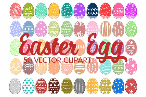 Download Free Easter Egg Vector Clipart Graphic By Geadesign Creative Fabrica SVG Cut Files