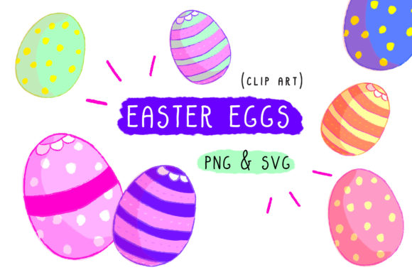 Print on Demand: Easter Egg Graphic Icons By Inkclouddesign - Image 2