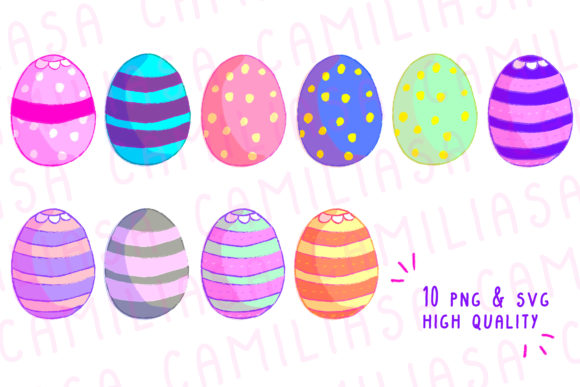 Print on Demand: Easter Egg Graphic Icons By Inkclouddesign - Image 1