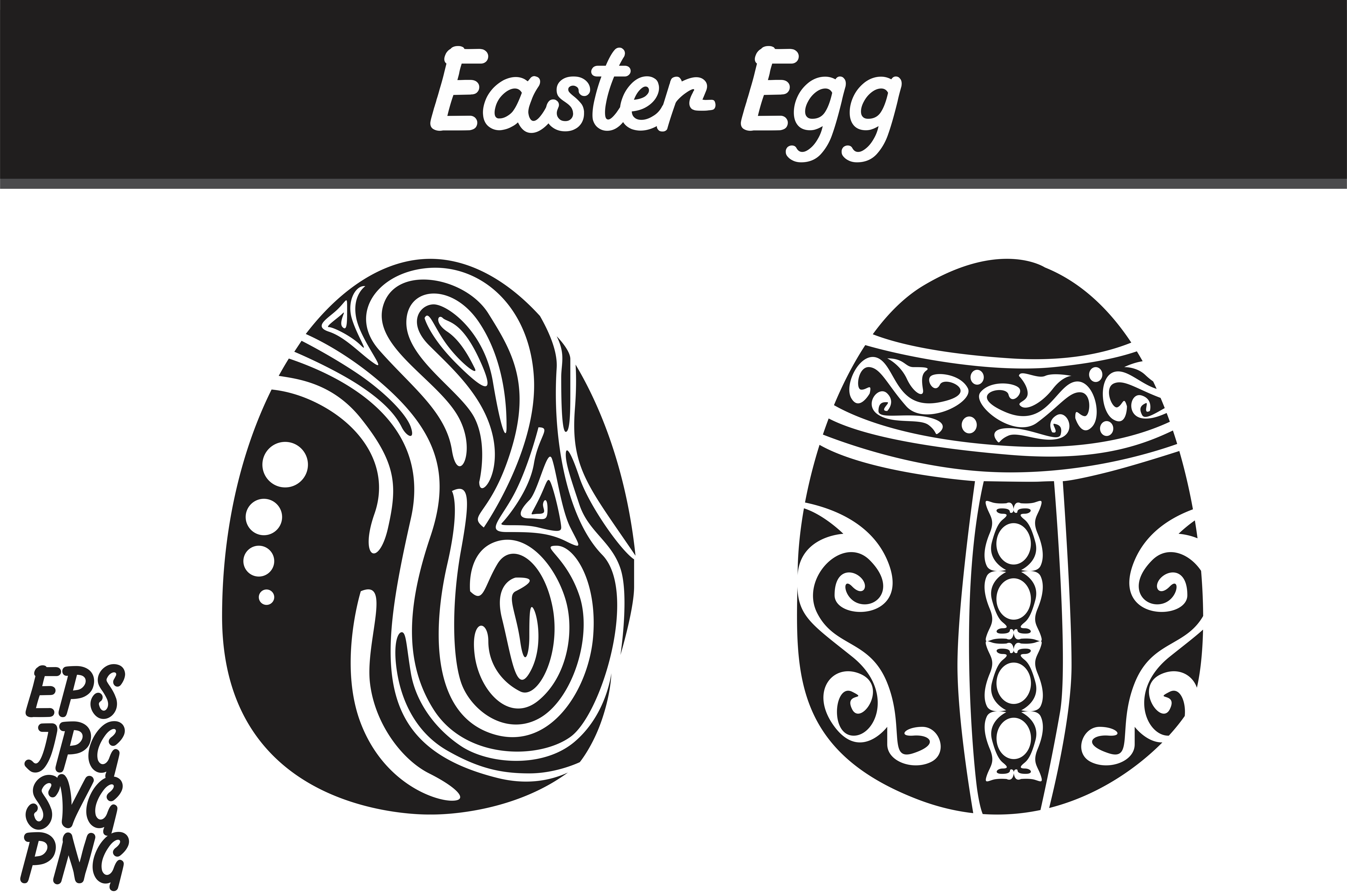 Download Free Easter Egg Set Svg Vector Image Bundle Graphic By Arief Sapta for Cricut Explore, Silhouette and other cutting machines.