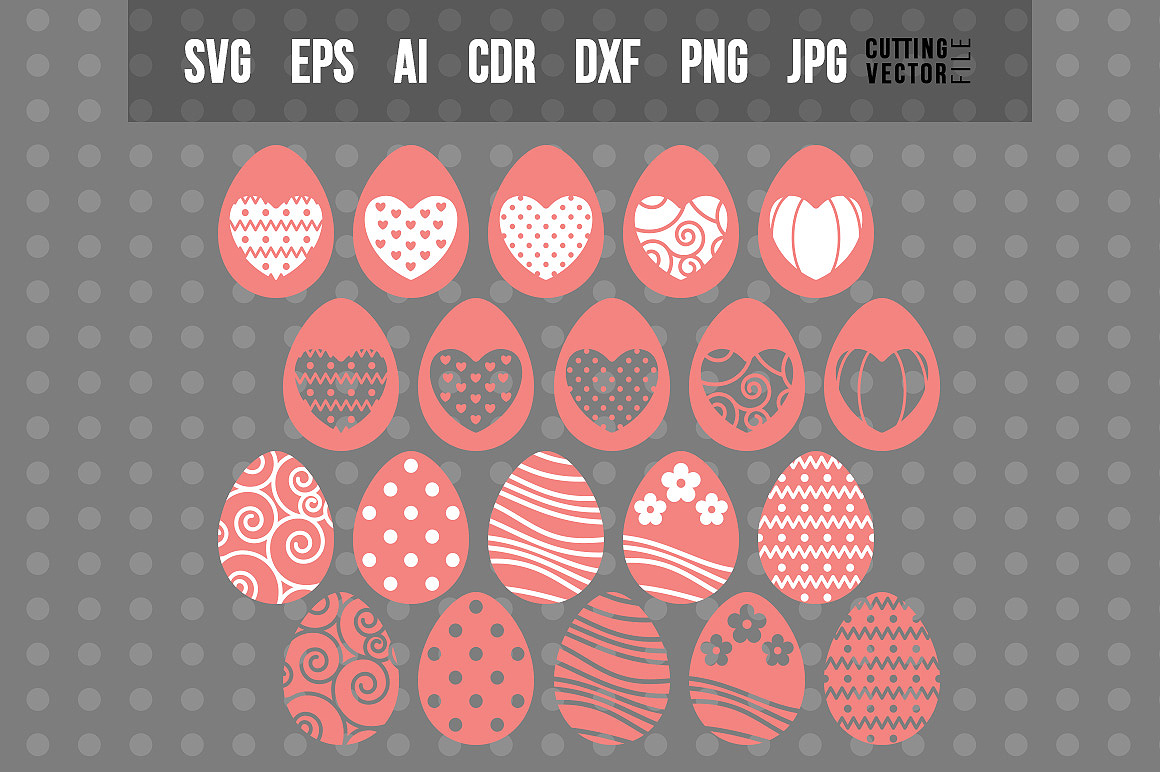Download Free Easter Eggs Graphic By Danieladoychinovashop Creative Fabrica for Cricut Explore, Silhouette and other cutting machines.