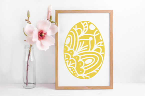 Easter - Mandala Easter Eggs SVG Graphic Crafts By oldmarketdesigns - Image 5