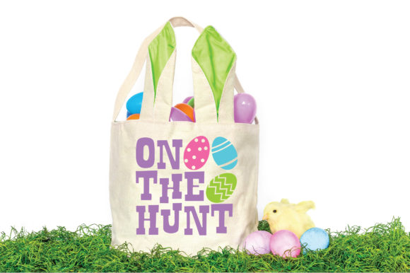 Print on Demand: Easter - on the Hunt SVG Graphic Crafts By oldmarketdesigns - Image 2