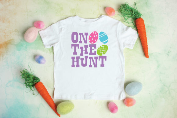 Print on Demand: Easter - on the Hunt SVG Graphic Crafts By oldmarketdesigns - Image 3