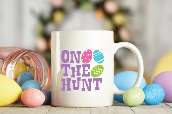 Print on Demand: Easter - on the Hunt SVG Graphic Crafts By oldmarketdesigns - Image 4