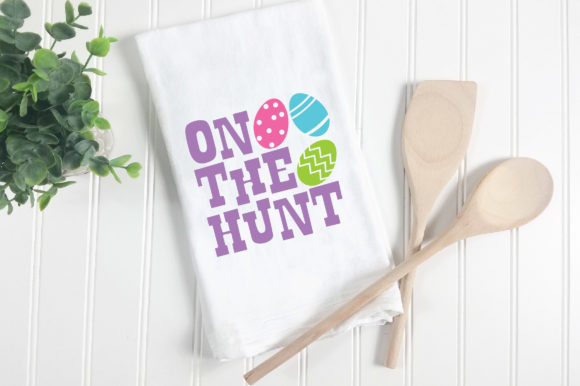 Print on Demand: Easter - on the Hunt SVG Graphic Crafts By oldmarketdesigns - Image 5