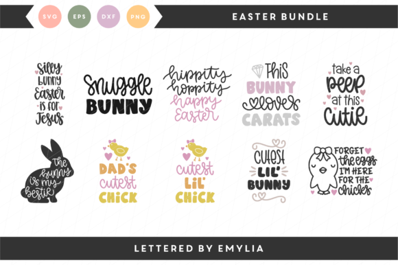 Download Free Spring Designs Graphic By Lettered By Emylia Creative Fabrica for Cricut Explore, Silhouette and other cutting machines.