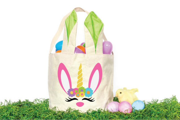 Easter - Unicorn Bunny SVG Graphic Crafts By oldmarketdesigns - Image 2