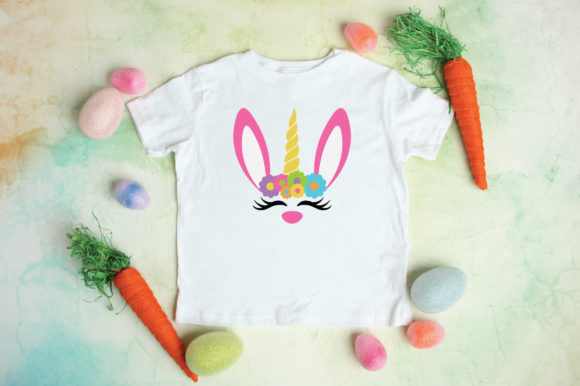Easter Unicorn Bunny Svg Graphic By Oldmarketdesigns