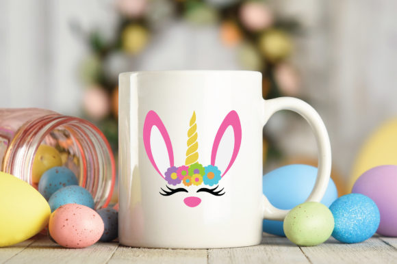 Easter - Unicorn Bunny SVG Graphic Crafts By oldmarketdesigns - Image 4
