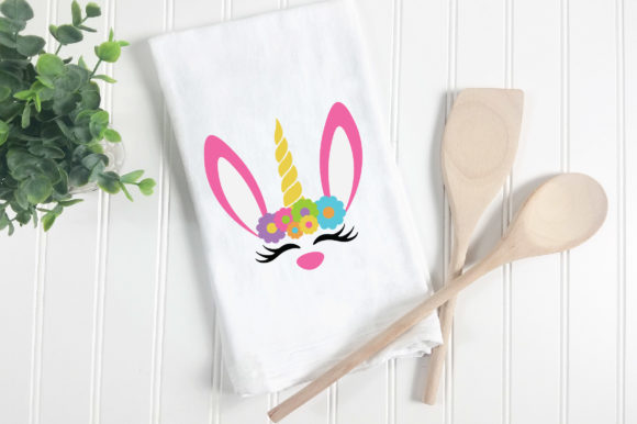Easter - Unicorn Bunny SVG Graphic Crafts By oldmarketdesigns - Image 6