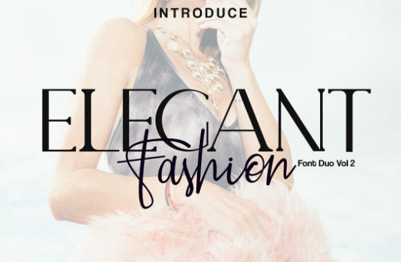 Print on Demand: Elegant Fashion Duo Script & Handwritten Font By Fallengraphic