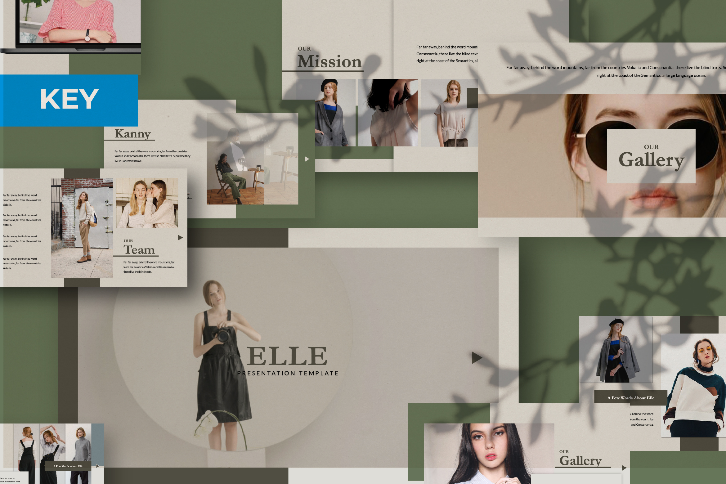Download Free Elle Creative Keynote Graphic By Temp Here Creative Fabrica for Cricut Explore, Silhouette and other cutting machines.
