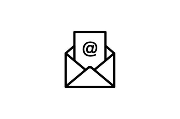 Email Icon Graphic by Kanggraphic · Creative Fabrica