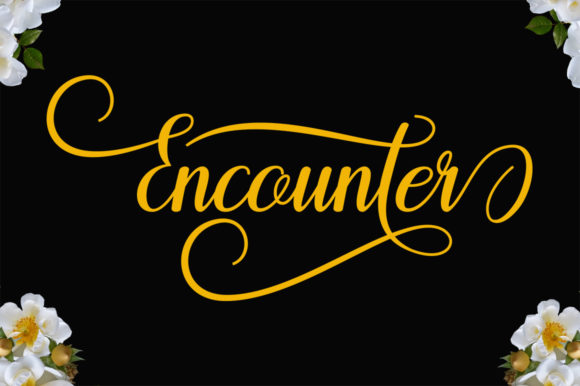Encounter Font By Encolab Image 6
