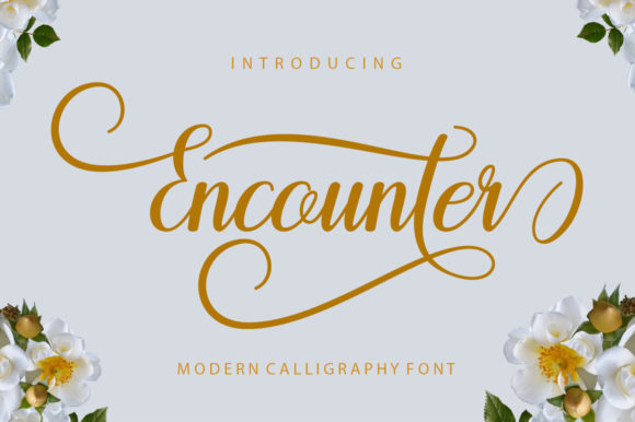 Encounter Font By Encolab Image 1