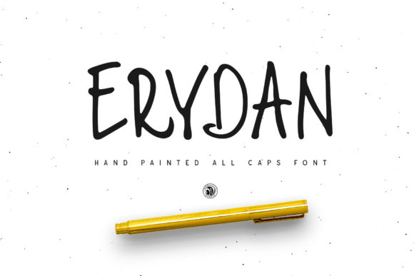 Print on Demand: Erydan Display Font By webvilla