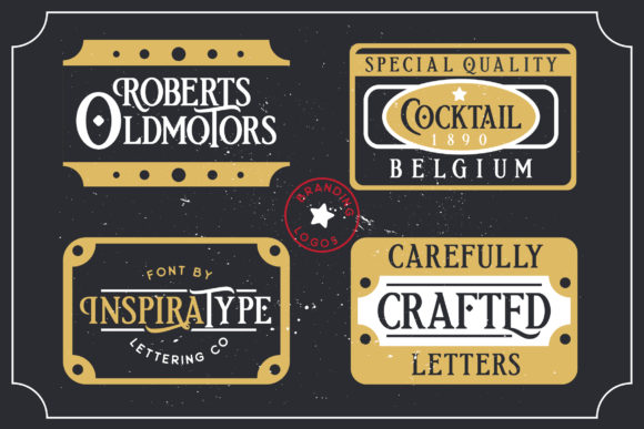 Print on Demand: Etherion Display Font By InspiraType - Image 9