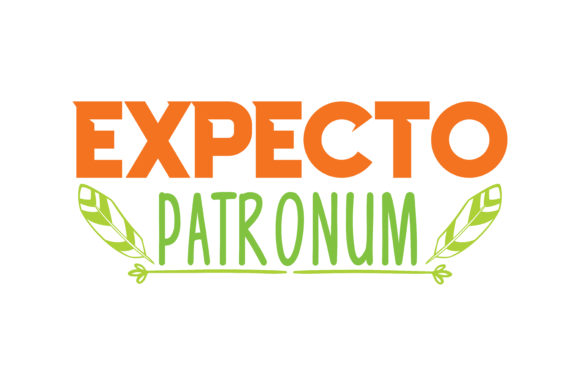 Expecto Patronum Quote Svg Cut Graphic By Thelucky Creative