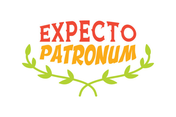 Print on Demand: Expecto Patronum Quote SVG Cut Graphic Crafts By TheLucky