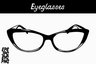 Download Free Eyeglasses Graphic By Arief Sapta Adjie Creative Fabrica for Cricut Explore, Silhouette and other cutting machines.