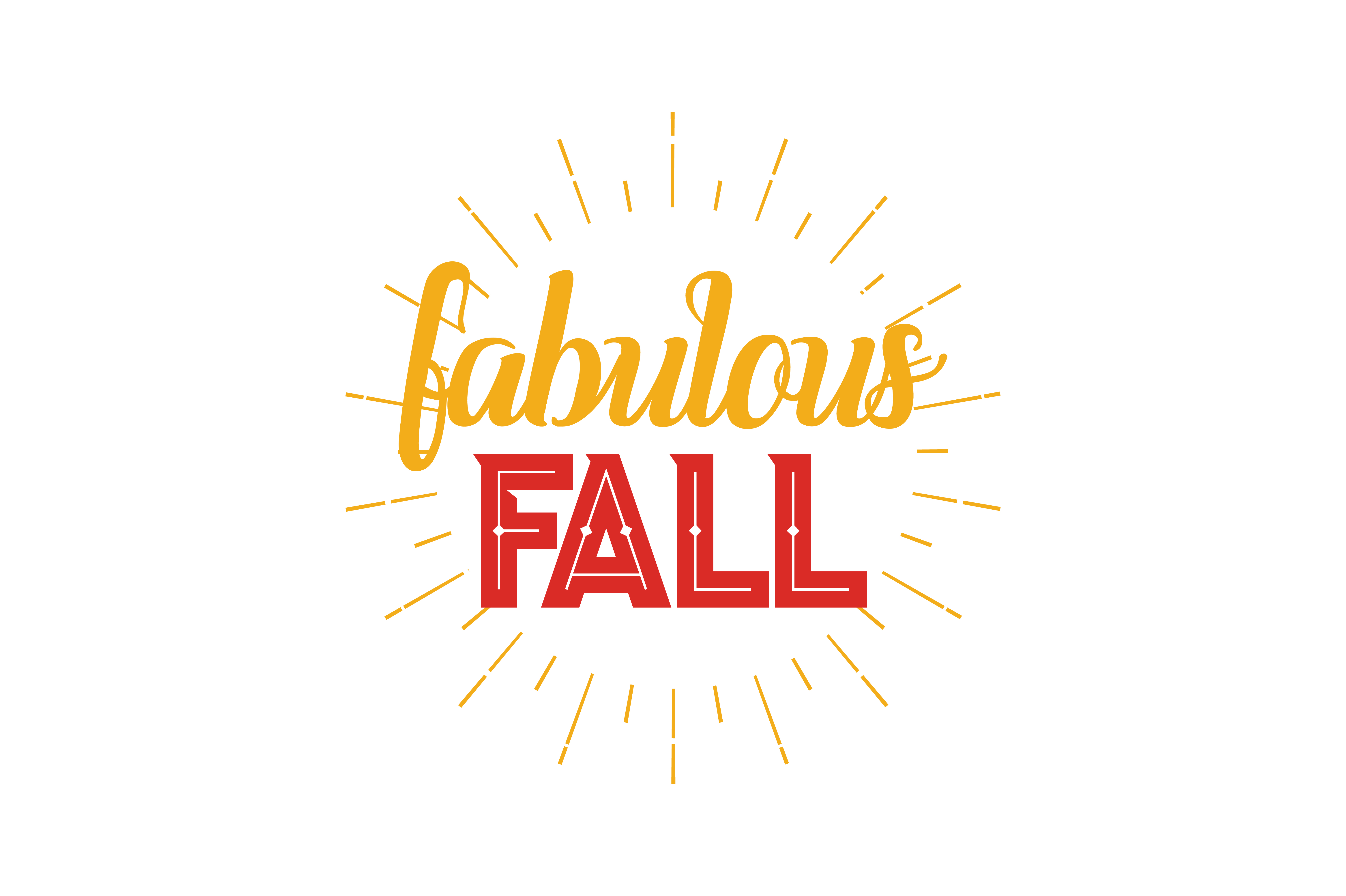 Download Free Fabulous Fall Quote Svg Cut Graphic By Thelucky Creative Fabrica for Cricut Explore, Silhouette and other cutting machines.