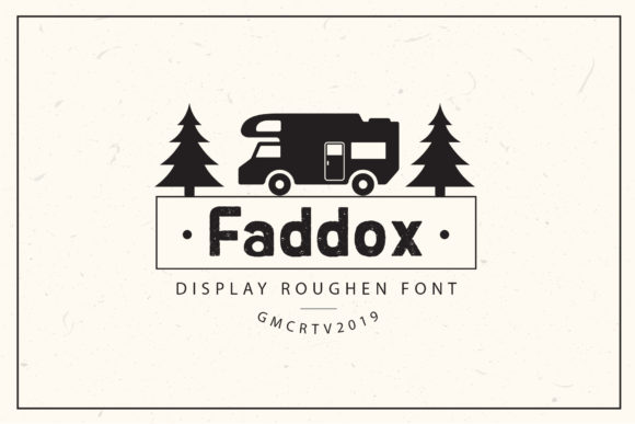 Print on Demand: Faddox Display Font By gumacreative