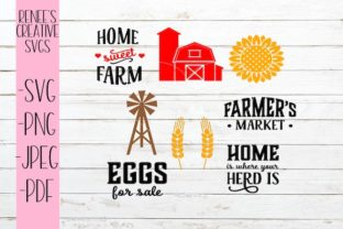 Download Free Farmers Bundle Svg Graphic By Reneescreativesvgs Creative Fabrica for Cricut Explore, Silhouette and other cutting machines.