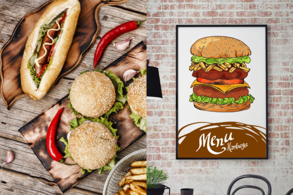 Fast Food Clipart Set Graphic Illustrations By tregubova.jul - Image 2