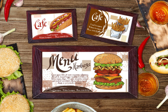 Fast Food Clipart Set Graphic Illustrations By tregubova.jul - Image 4