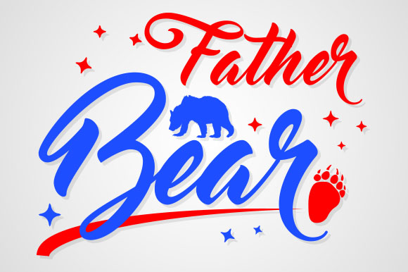Download Free Father Bear Graphic By Zaibbb Creative Fabrica SVG Cut Files