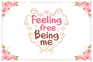 Feeling Free Being Me Script & Handwritten Font By Adyfo (7NTypes)
