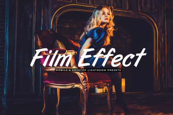 Print on Demand: Film Effect Mobile & Desktop Lightroom Presets Graphic Actions & Presets By Creative Tacos