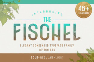 Download Free Fischel Family Font By 160 Studio Creative Fabrica for Cricut Explore, Silhouette and other cutting machines.