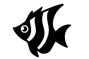 Fish Icon Graphic By Mine Eyes Design