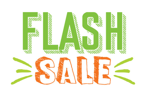 Print on Demand: Flash Sale Graphic Crafts By TheLucky