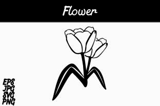 Download Free Flower Lineart Vector Image Graphic By Arief Sapta Adjie for Cricut Explore, Silhouette and other cutting machines.