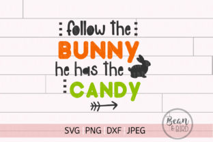 Follow the Bunny Easter Graphic By Jessica Maike