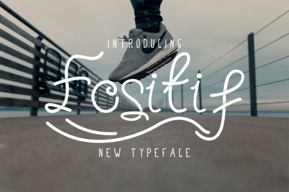 Print on Demand: Fositif Script & Handwritten Font By EdricStudio