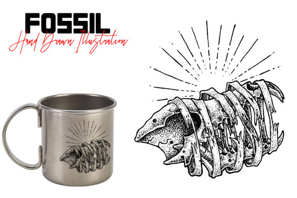 Fossil Graphic Illustrations By gumacreative